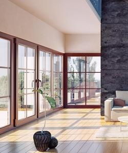 铝包木窗安装